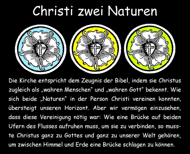 Christi zwei Naturen