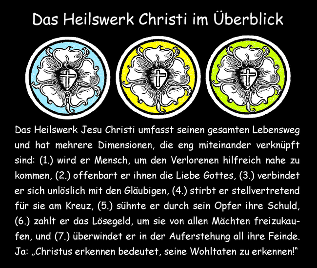 Das Heilswerk Christi im Überblick