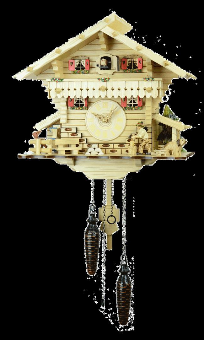 森の時計 482-7QM ハト時計