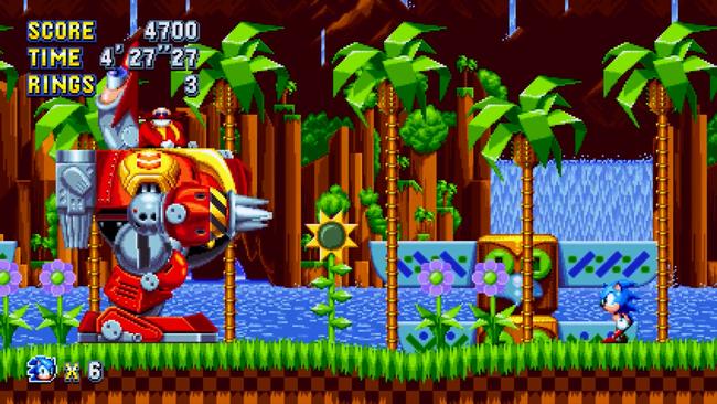 Sonic, Tails, Knuckles, Eggman, Robotnik, Sega, Hedgehog, Mega Drive, Platformer, Speed, Geschwindigkeit, Ringe, Roboter, Puyo Puyo, Green Hill Zone, Retro, Remaster