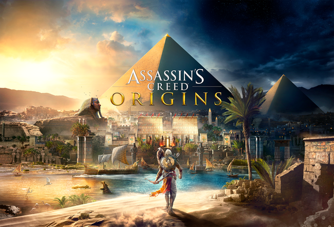 Assassins Creed, Origins, Ägypten, Bayek, Medjai, Aya, Pyramiden, Sphynx, Anubis, Assassin's Creed, Assassine, Kleopatra, Cäsar, Caesar, Bogen, Nil, Siwa, Reboot, Prequel, Pharao, Götter, Osiris