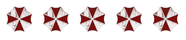 5 von 5 Umbrella Corporation-Logos