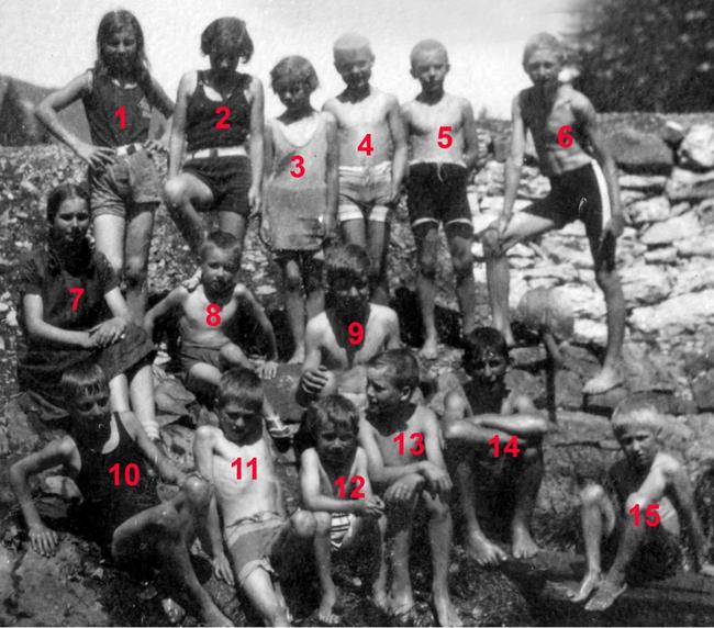 Sulzbodenkinder vergrössert. Wer kennt noch wen?