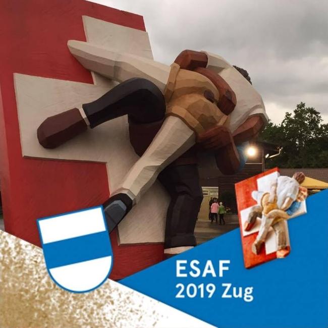 Diese Kunstwerk ist topaktuell vom ESAF 2019, der untenstehende Text schon nostalgisch und stammt aus dem Jahr 2013 (Bild: Markus Hauser, Zug)