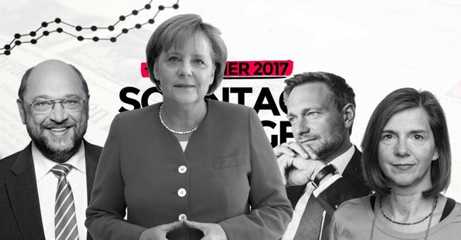 Schulz geht - Merkel kommt wieder, doch gelingt die Jamaika-Koalition mit FDP und GRÜNEN?