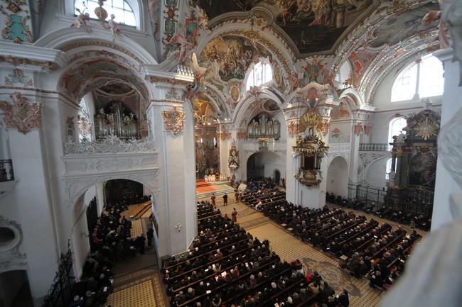 Prachtvolles Kircheninneres.
