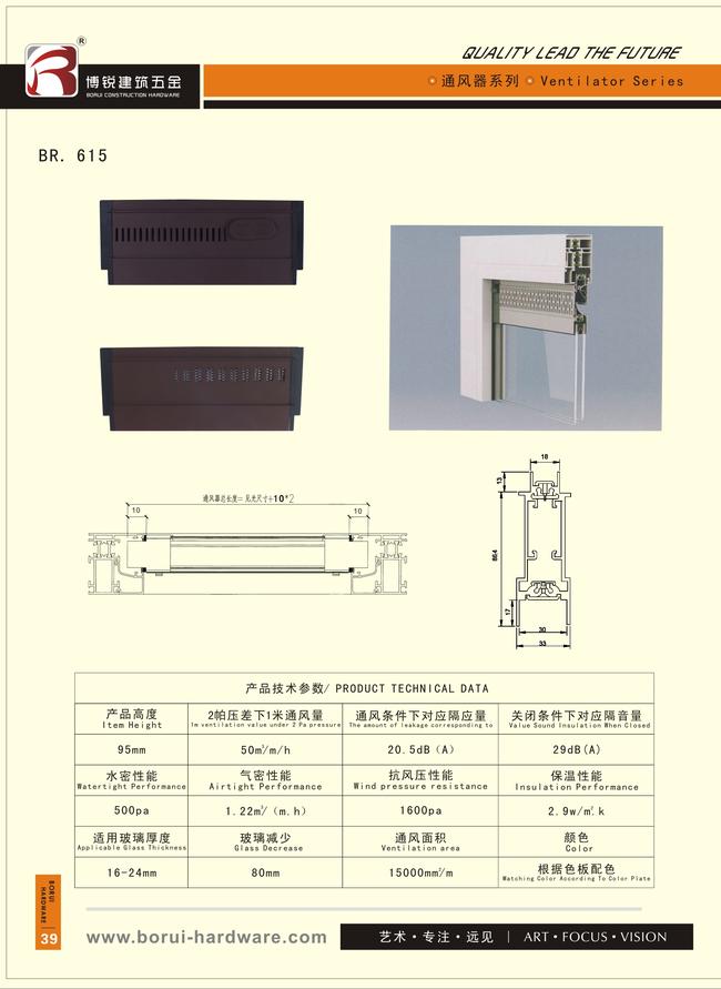 BORUI Shower Door Parts