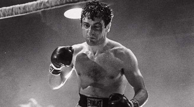 Robert DeNiro in Raging Bull