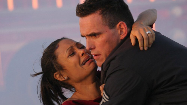 Thandie Newton & Matt Dillon in Crash