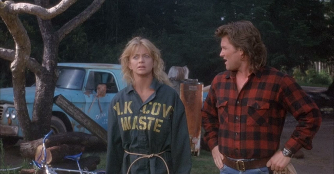 Goldie Hawn & Kurt Russell in Overboard