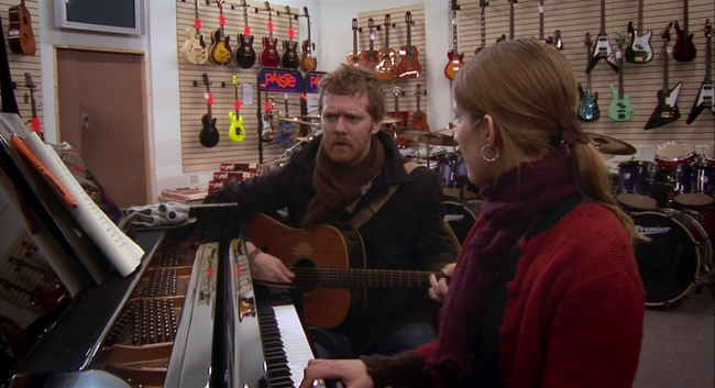 Glen Hansard & Marketa Írglova in Once