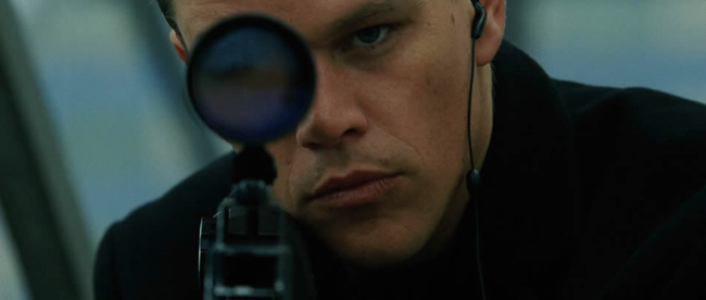 Matt Damon in The Bourne Supremacy