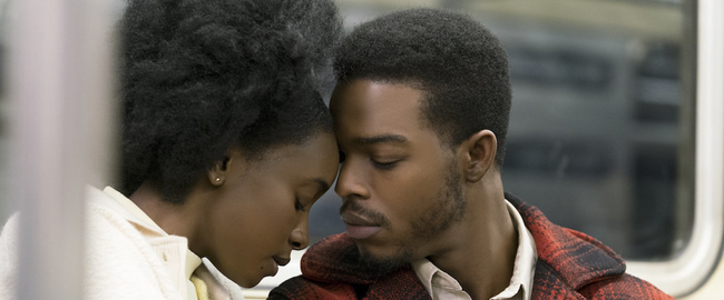KiKi Layne & Stephane James in If Beale Street Could Talk