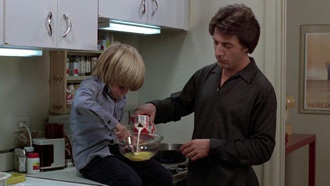 Justin Henry & Dustin Hoffman in Kramer vs Kramer