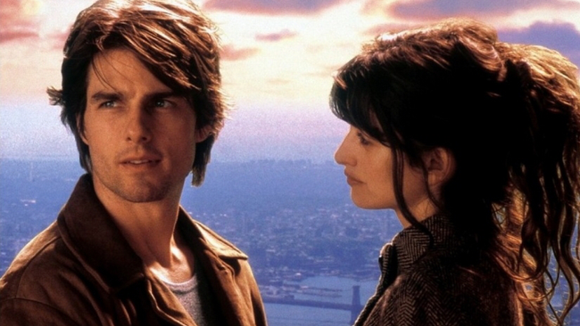 Tom Cruise & Penelope Cruz in Vanilla Sky