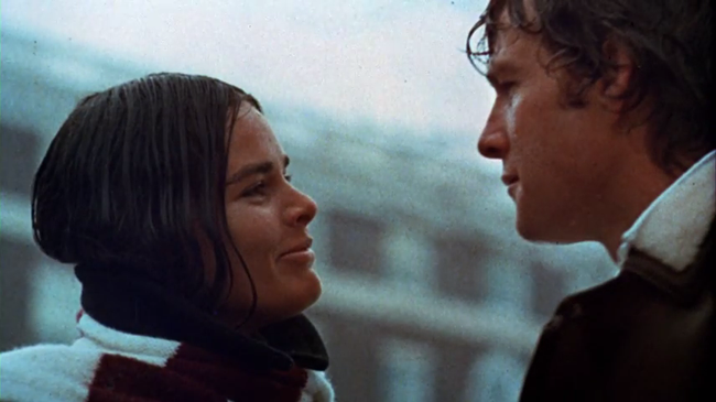 Ali MacGraw & Ryan O'Neal in Love Story