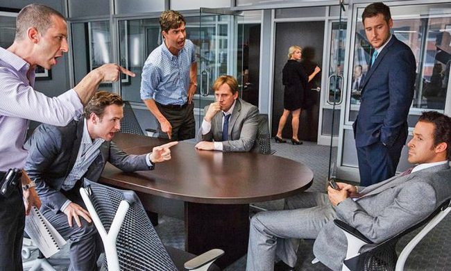 The cast of The Big Short