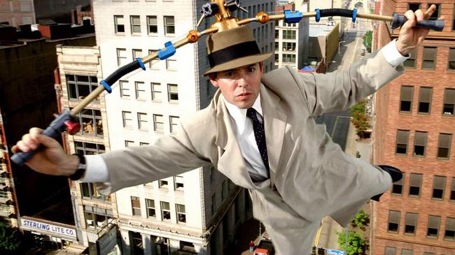Matthew Broderick in An Inspector Gadget
