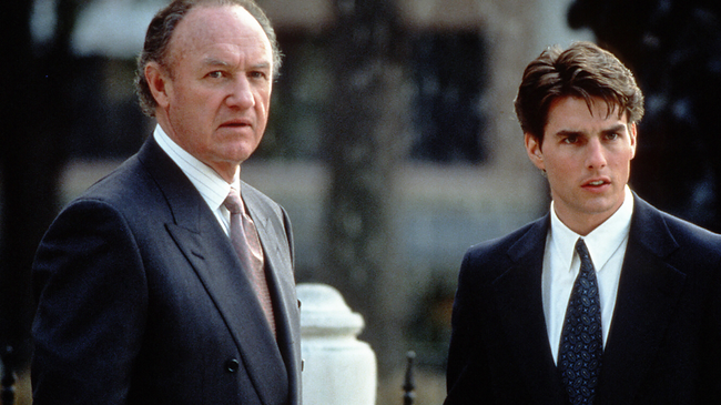 Gene Hackman & Tom Cruise in The Firm