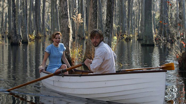 Rachel McAdams & Ryan Gosling in The Notebook