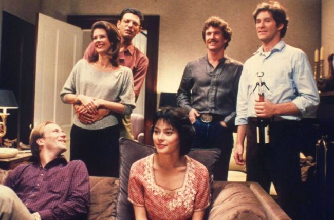 The cast of The Big Chill