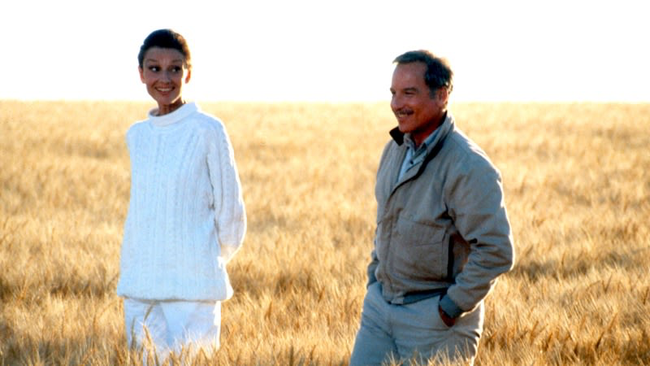 Audrey Hepburn & Richard Dreyfuss in Always