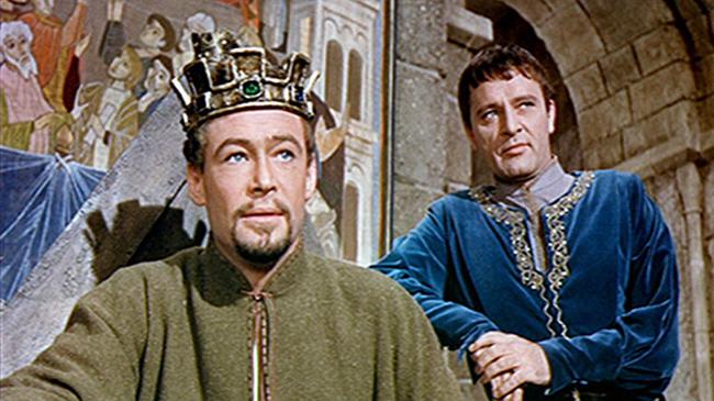 Peter O'Toole & Richard Burton in Becket