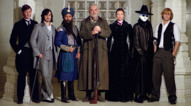 The cast of The League of Extraordinary Gentlemen