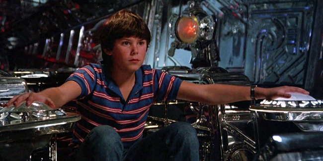 Joey Kramer in Flight of the Navigator