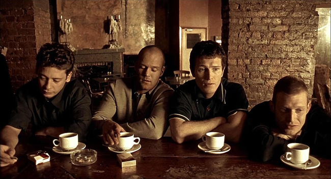 The cast of Lock, Stock & Two Smoking Barrels