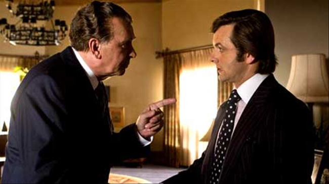 Frank Langella & Michael Sheen in Frost/Nixon