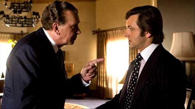Frank Langella & Michael Sheen in Frost/Nixon