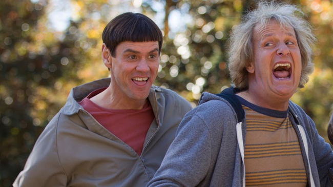 Jim Carrey & Jeff Daniels in Dumb & Dumber To