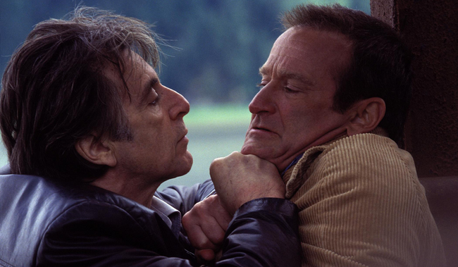 Al Pacino & Robin Williams in Insomnia