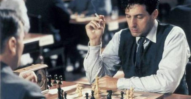 John Turturro in The Luzhin Defence