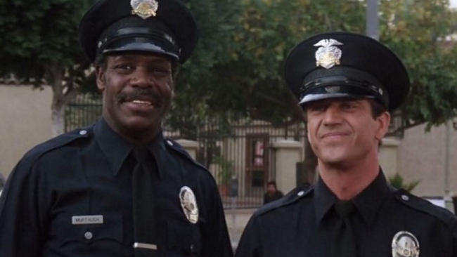 Danny Glover & Mel Gibson in Lethal Weapon 3