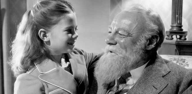 Natalie Wood & Edmund Gwenn in Miracle on 34th Street