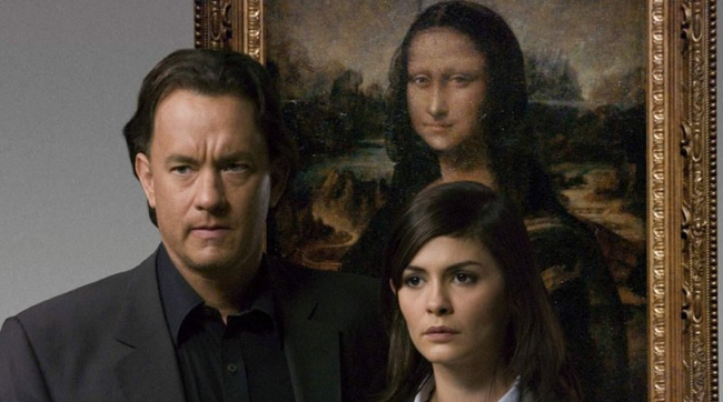 Tom Hanks & Audrey Tautou in The Da Vinci Code