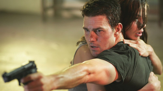 Tom Cruise & Michelle Monaghan in Mission: Impossible III