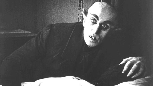 Max Schreck in Nosferatu