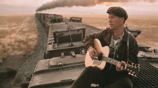 David Carradine in Bound For Glory
