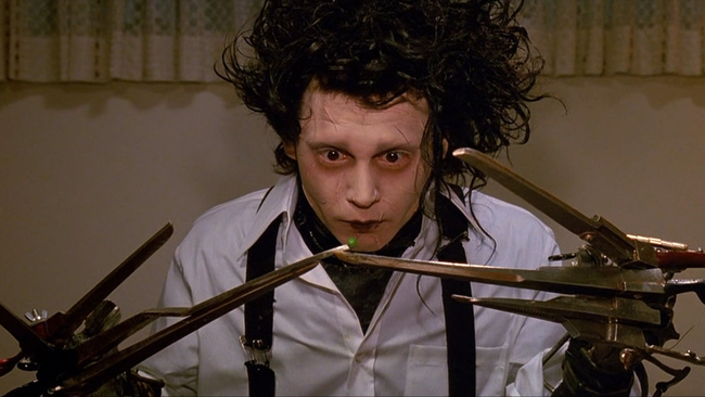 Johnny Depp in Edward Scissorhands