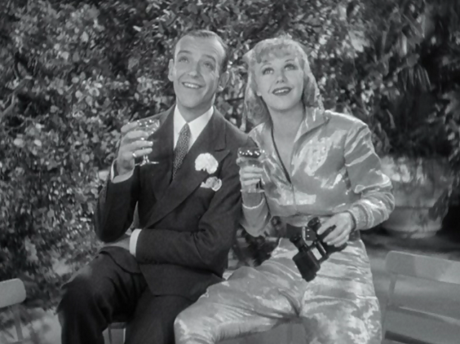 Fred Astaire & Ginger Rogers in Flying Down To Rio