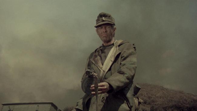 James Coburn in Cross of Iron