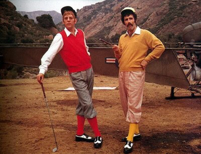 Donald Sutherland & Elliott Gould in M*A*S*H