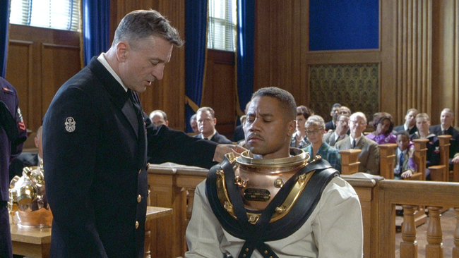Robert DeNiro & Cuba Gooding, Jr. in Men of Honor