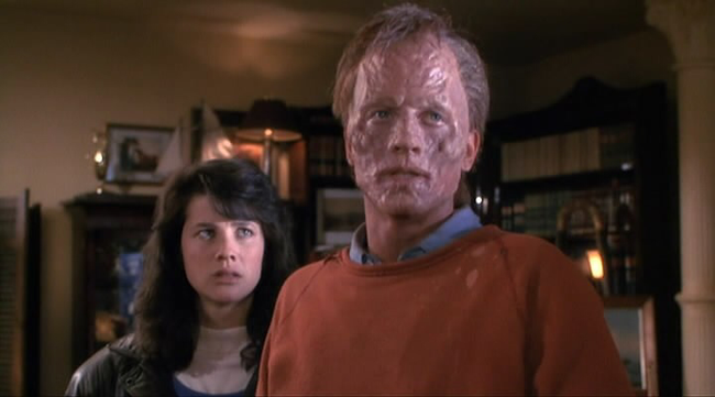 Daphne Zuniga & Eric Stoltz in The Fly II