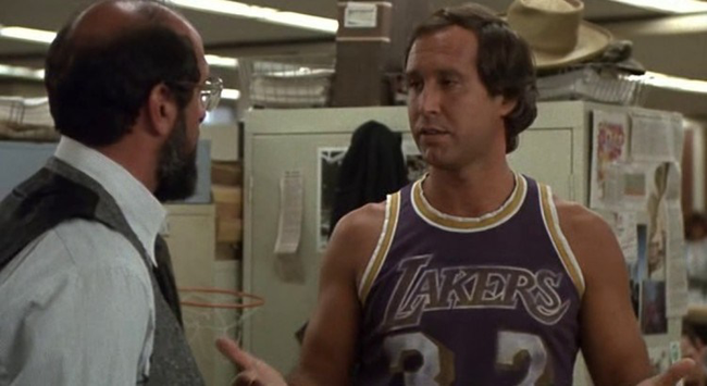 Chevy Chase in Fletch