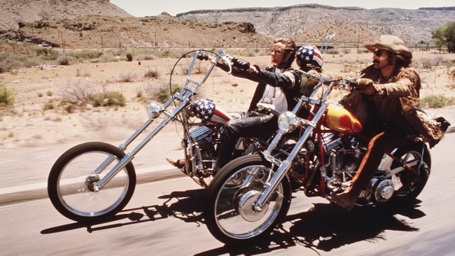 Peter Fonda & Dennis Hopper in Easy Rider