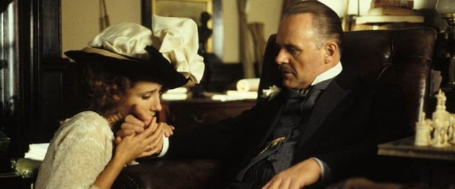 Emma Thompson & Anthony Hopkins in Howards End